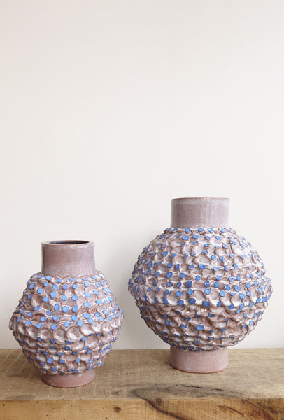 BZIPPY Large Terracotta Dot Vase | Oroboro Store | Brooklyn, New York