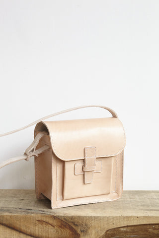 Agnes Badoo Crossbody in Natural | Oroboro Store | Brooklyn, New York