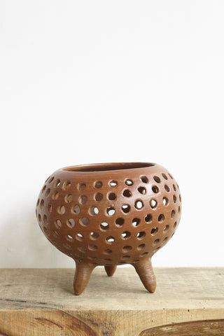 Colectivo 1050° Micaela Pot in Red Clay | Oroboro Store | Brooklyn, New York