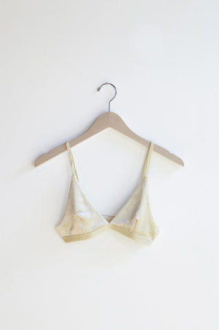 Base Range Ebba Bra in Gooseberry Green | Oroboro Store | Brooklyn, New York