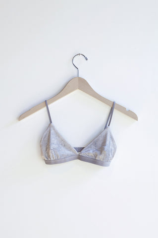 Base Range Mississippi Bra in Silver | Oroboro Store | Brooklyn, New York