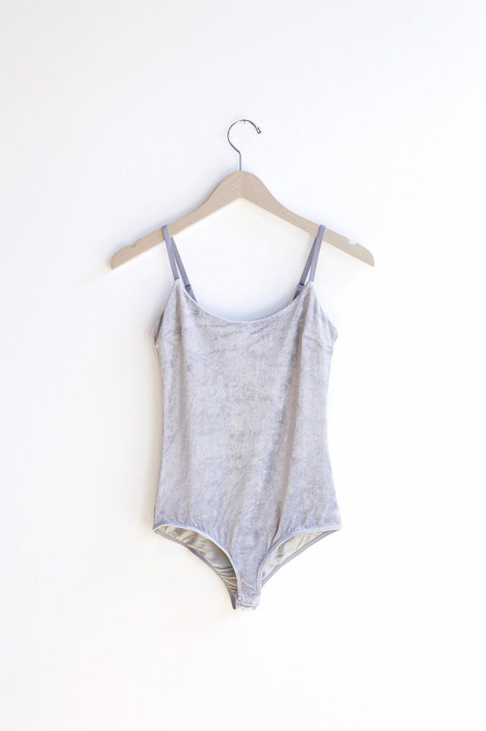 Base Range Emily Body in Silver | Oroboro Store | Brooklyn, New York