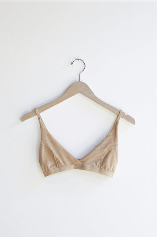 Base Range Ebba Bra in Carl Johan Nude | Oroboro Store | Brooklyn, New York