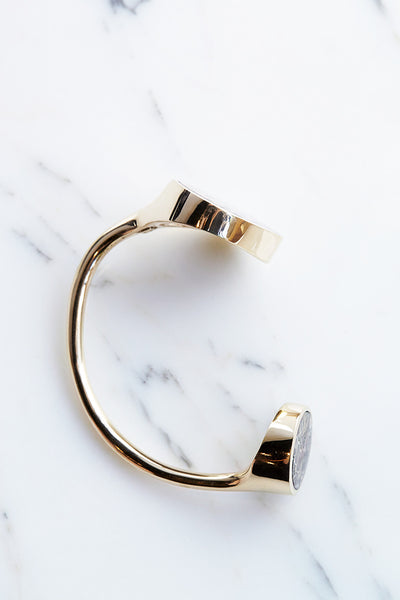 Quarry Jasper Double Cuff | Oroboro Store | Brooklyn, New York