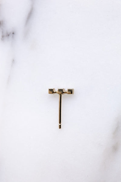 Quarry Andre Stud Earrings | Oroboro Store | Brooklyn, New York