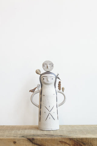 Heidi Anderson Large Lady Totem | Oroboro Store | Brooklyn, New York