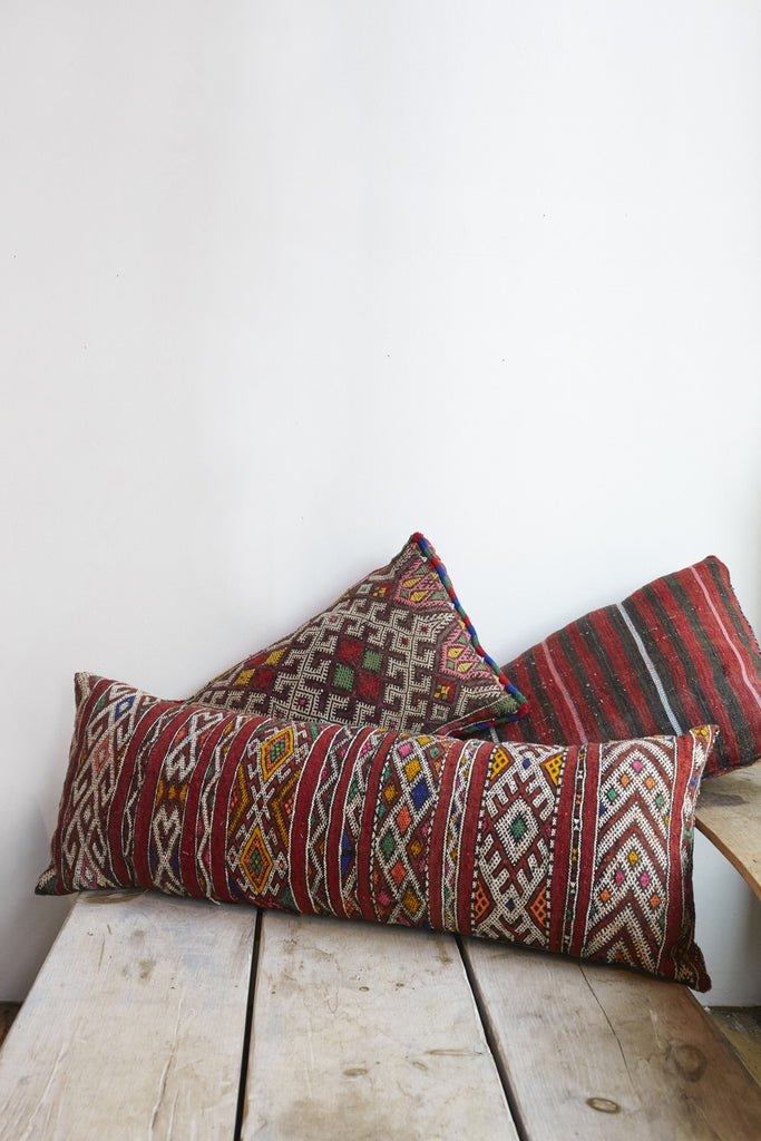 Moroccan Pillows Long Rectangle | Oroboro Store | Brooklyn, New York