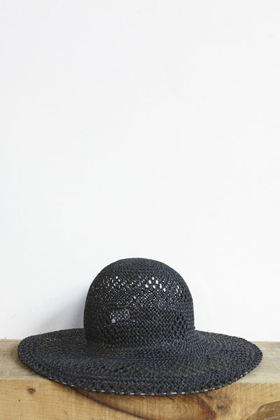 Clyde Koh Hat in Black | Oroboro Store | Brooklyn, New York