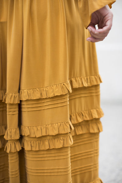 Leonora Skirt in Goldenrod