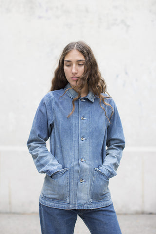 Chimala Unisex Selvedge Denim Chore Jacket | Oroboro Store | Brooklyn, New York