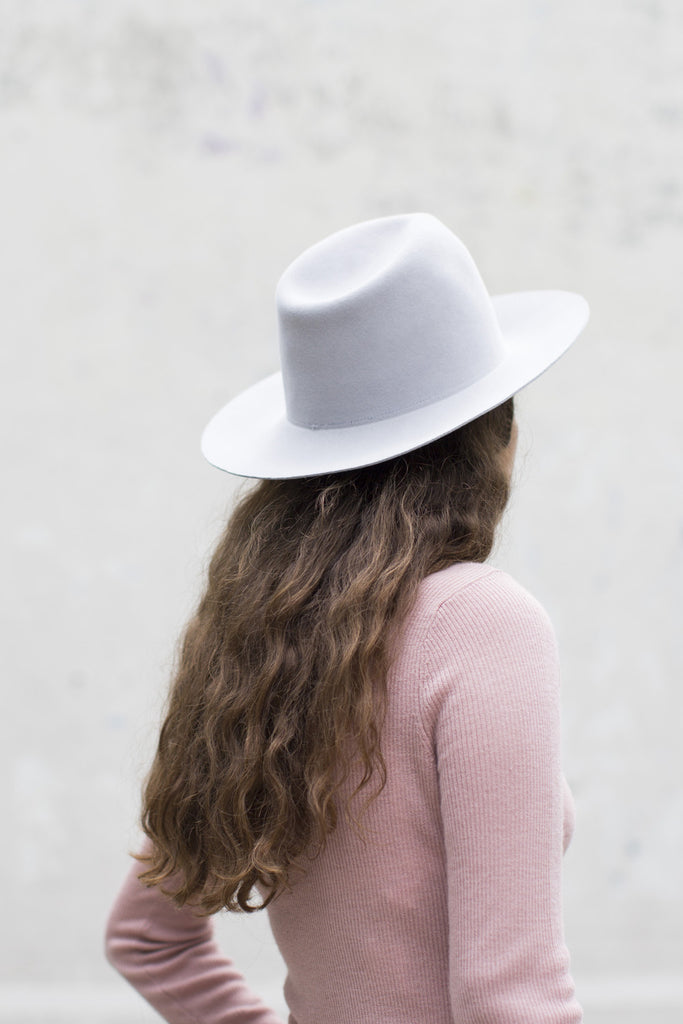 Clyde Pinch Hat in Dove Gray | Oroboro Store | Brooklyn, New York