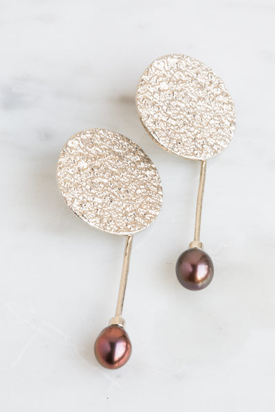 Francesca Pearl Earrings