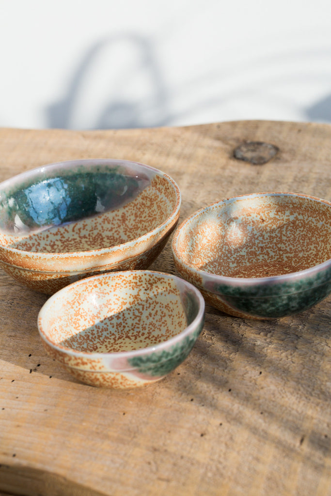 Porcelain Nesting Bowl Set