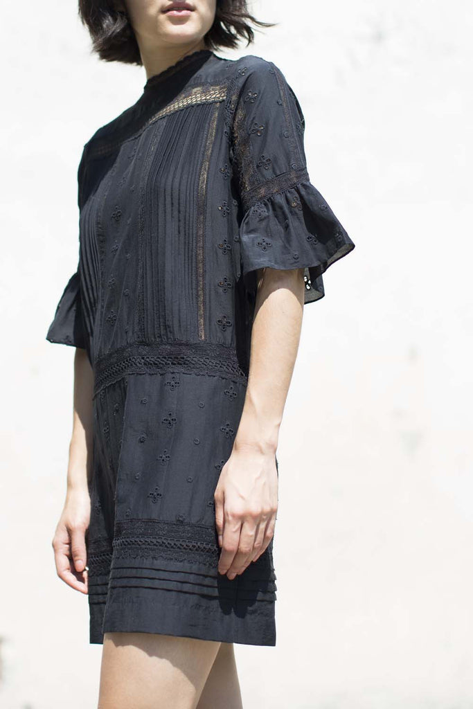 Ulla Johnson Elena Dress in Flint | Oroboro Store | Brooklyn, New York