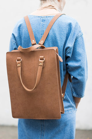 Marlow Goods Thetford Backpack in Tobacco