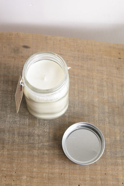 Good Candle BK Mason Jar Candle | Oroboro | New York