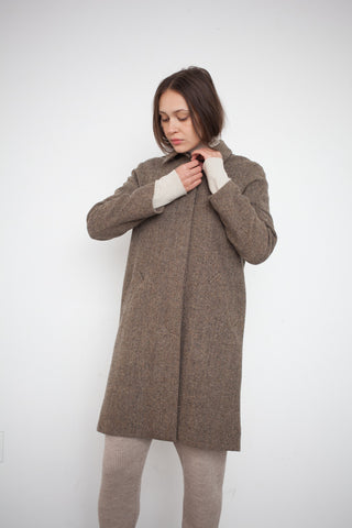 Petria Lenehan Wicklow Coat in Hay | Oroboro Store | Brooklyn, New York