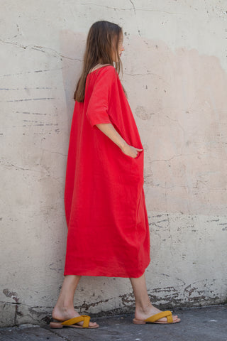 Rachel Craven Cocoon Dress in Desert Paintbrush | Oroboro Store | New York, NY
