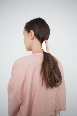 Sylvain Le Hen Hairclip 044 in Rose Gold | Oroboro Store | Brooklyn, New York