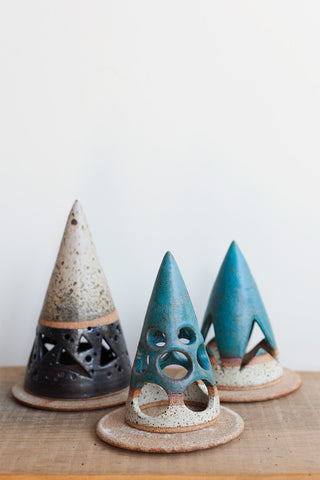 Heather Levine Candle Holders