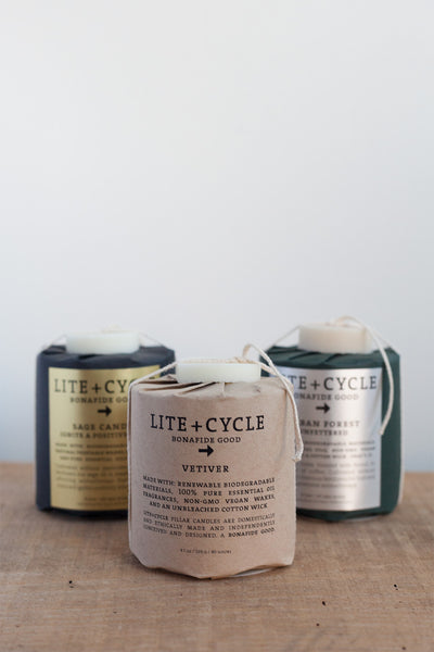 Lite + Cycle Candle in Sage