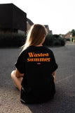 Wasted Summer Tee (black/unisex)