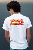 Wasted Summer Tee (white/unisex)