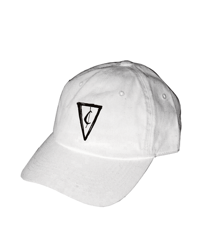 Cent Logo Dad Hat - White