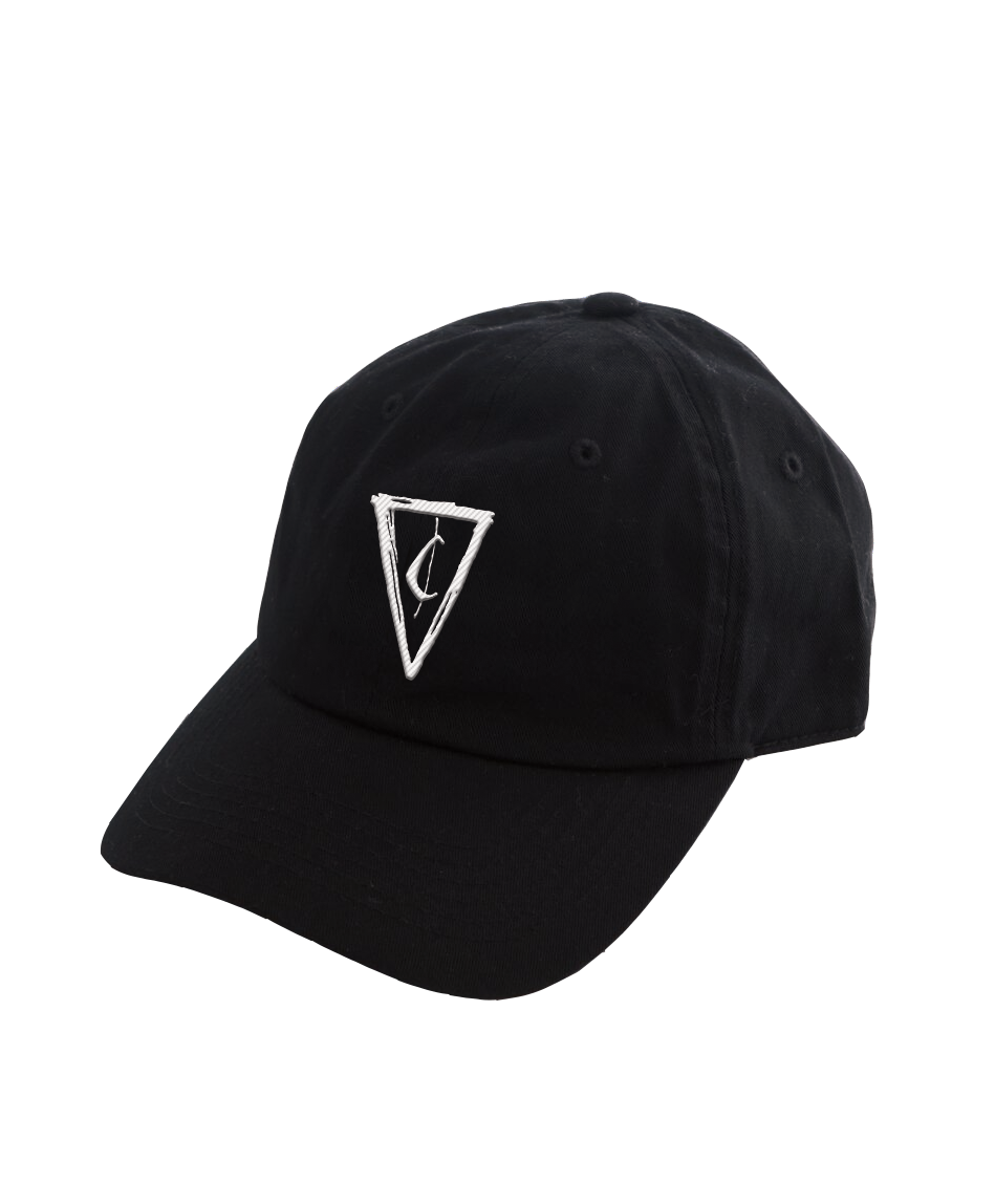 Cent Logo Dad Hat - Black