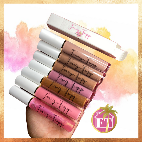 Cataleya Nude & Pink Lipgloss Collection