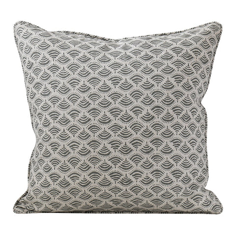 Delphi Pepper Linen Cushion