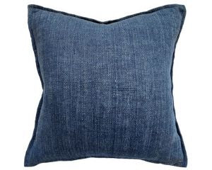 Flaxmill Linen Cushion - Ink