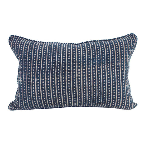 Hakuro Indigo Cushion