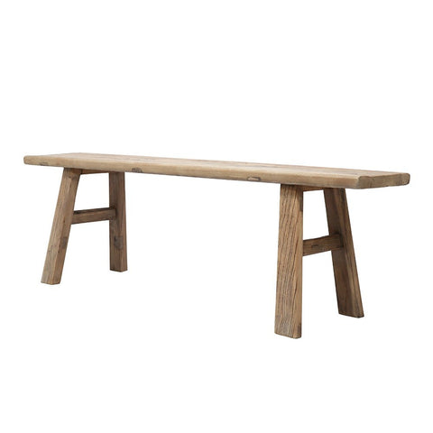 Elmwood Bench Seat 160 - natural