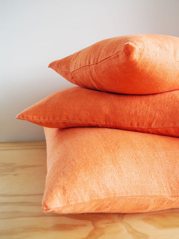 Franc Linen Cushion Orange