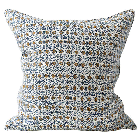 Condesa Toffee Linen Cushion