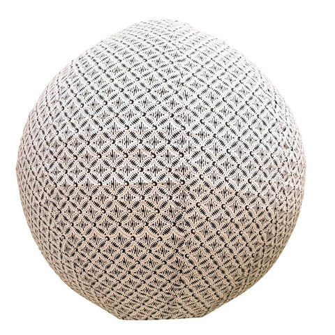 Sphere Fabric Shade - Navy/White