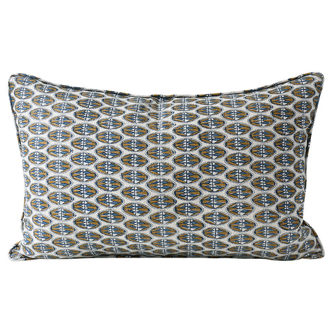 Lodhi Toffee Linen Cushion