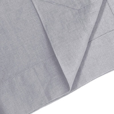 Franc Linen Tablecloth - Cloud Grey