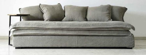 Benji Sofa - Pure Linen Natural