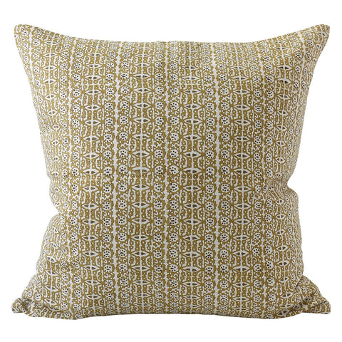 Capri Linen Cushion - Saffron