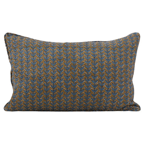 Aswan Tobacco Linen Cushion