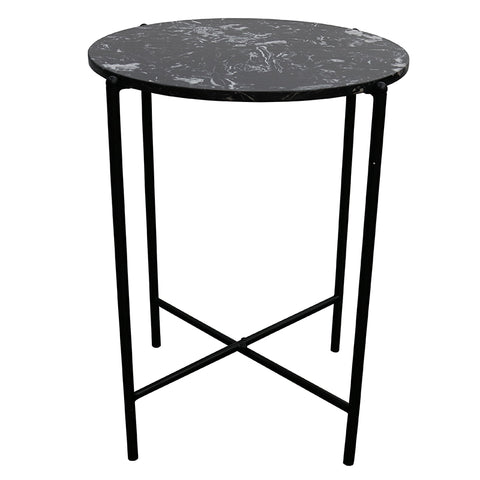 Crete Side Table - Black