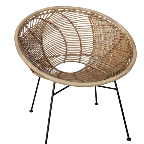 Rattan Drum Chair