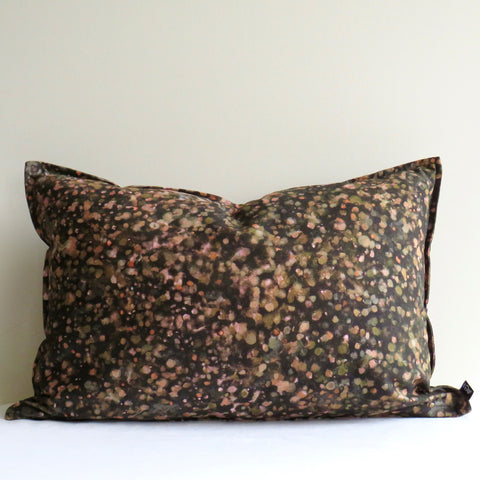 Forest Floor Gold Blush Cushion