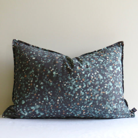 Forest Floor SIlver Ash Cushion