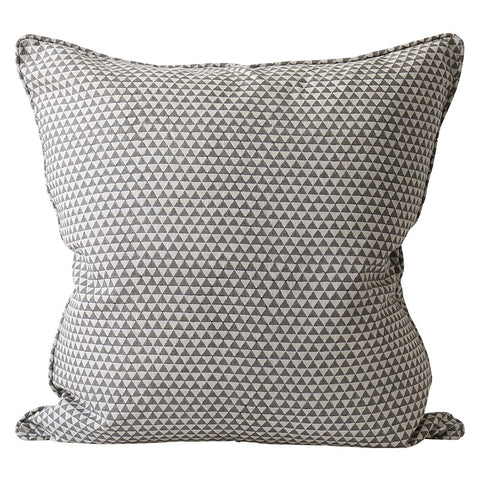 Huts Mud Linen Cushion