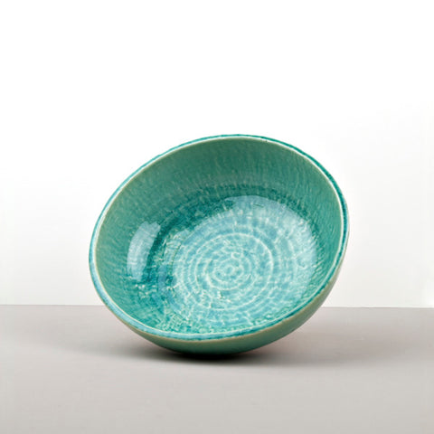Turquoise Serving Bowl