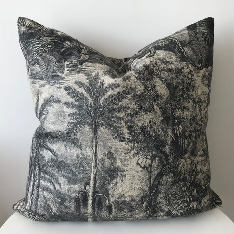 Jungle Linen Cushion