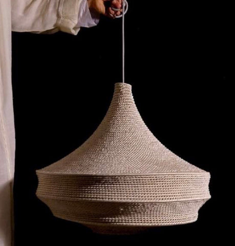 Seven Saints Moroccan Crochet  Light Shade - Lge